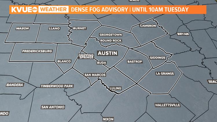 Dense Fog Advisory 1/14/2020