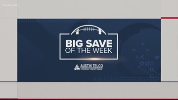 Here is the winner of KVUE's Big Save of the Week - Sept. 6