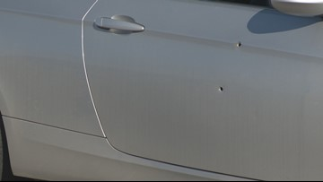 Passenger allegedly fires 3 shots at Austin man's car during road rage incident