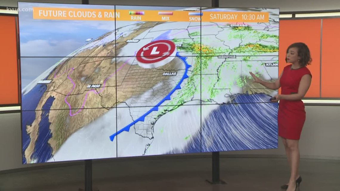 FORECAST: Foggy morning, cloudy Friday with patchy showers