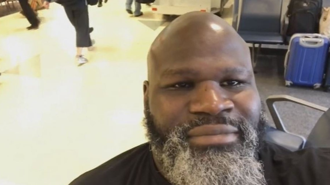 Once 'World's Strongest Man' Mark Henry helps the homeless on Father's Day