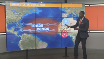Friday morning weather with Jason Mikell