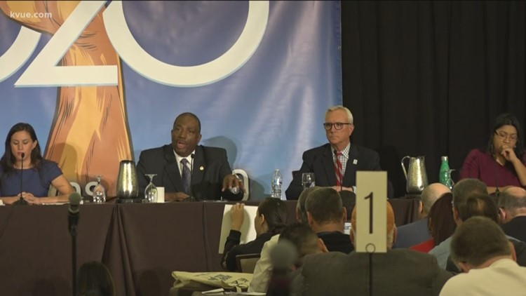 Six of 12 Democratic U.S. Senate candidates debate hot button issues