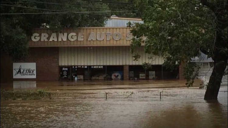 La Grange small business reopens year and a half after Hurricane Harvey flooding