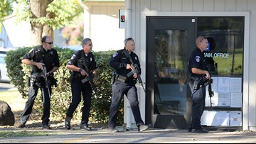 Gunman, accomplice nabbed in shooting near California school