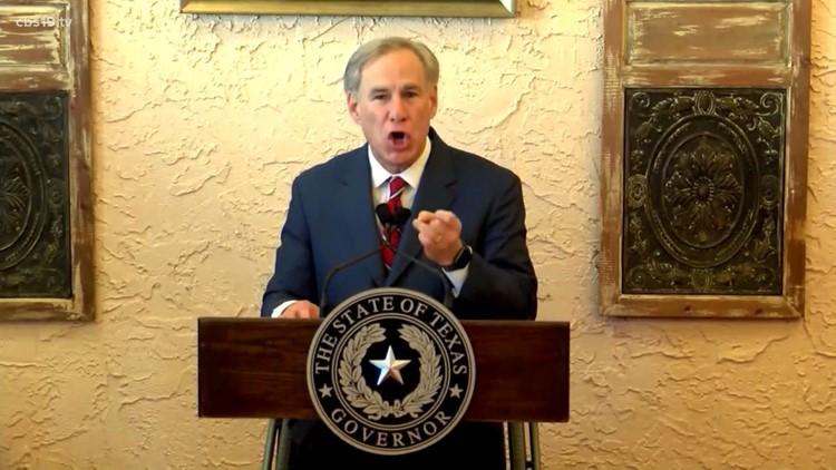VERIFY: Fact-checking Gov. Greg Abbott's claims for opening Texas, rescinding mask mandate