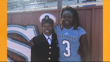 VIDEO: Navy officer, son share tear-jerking reunion during homecoming celebration