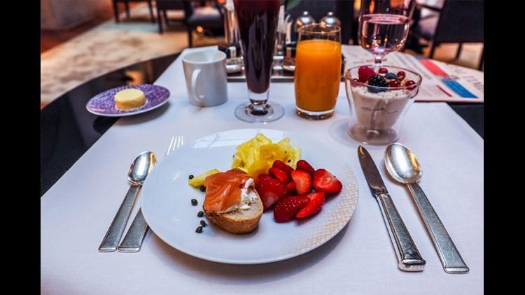 Breakfast at the Park Hyatt Paris Vendome