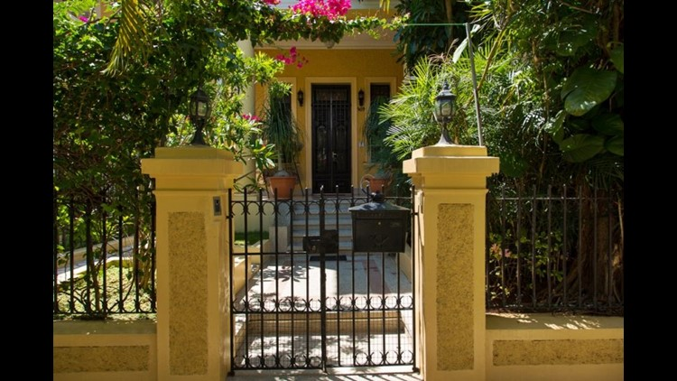 I had a private room and bathroom at the Casa Colonial, a colonial mansion in Cuba booked via Airbnb, where I was able to get a feel for the neighborhood Vedado and chat with the amazing host Osmary about life in Havana. (Photo by Lori Zaino)