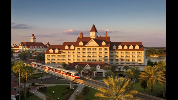 Take a bus from Shades of Green to the Transportation & Ticket Center and then hop on the monorail to visit the Grand Floridan, Contemporary or Polynesian resorts. (Photo courtesy of Kent Phillips / Walt Disney World Resort)