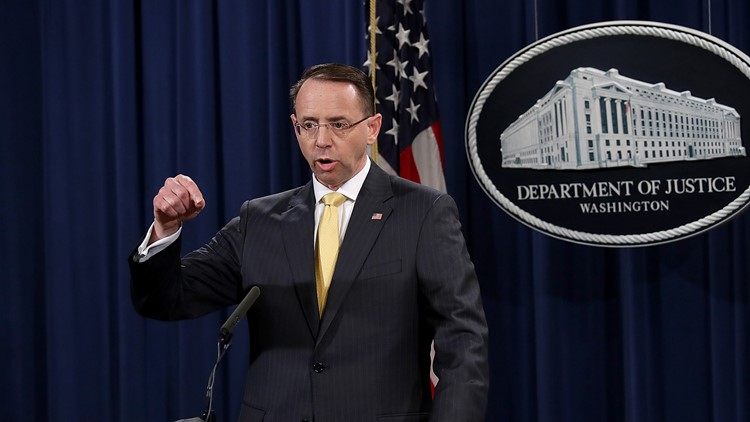House Republicans move to impeach deputy AG Rosenstein