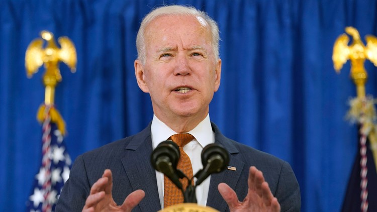 Biden's claim of historic job creation at the start of his presidency needs context
