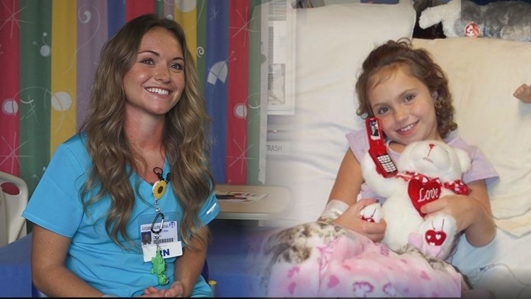 'It made me a fighter'   Nurse accomplishes lifelong dream of being a nurse after battling leukemia
