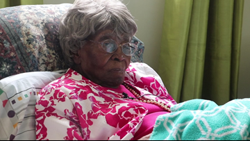 Oldest woman in America celebrates her 115th birthday