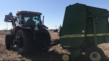 Income down 50% for North Texas farmer: 'It's almost a crisis in the ag economy'