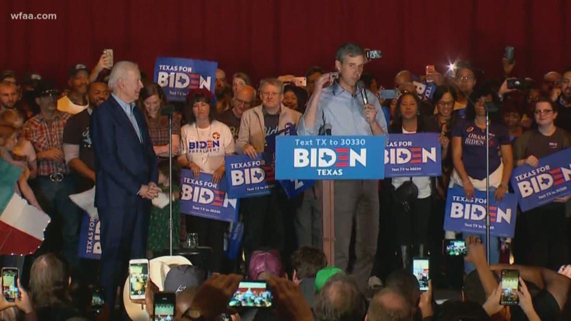 All eyes on Dallas:  Buttigieg, Klobuchar, O'Rourke endorse former rival Joe Biden