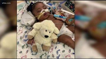 Gov. Abbott backing Fort Worth baby Tinslee Lewis as doctors try to take her off life support