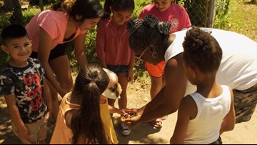 Fort Worth woman drives across North Texas to feed kids right