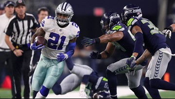 Elliott, Cowboys power past Seahawks for 24-22 wild-card win
