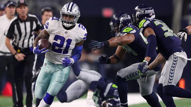 Elliott, Cowboys power past Seahawks for 24-22 wild-card win
