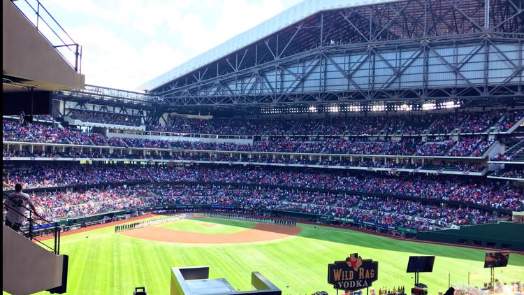 Texas Rangers set new pandemic-era attendance record. Here's what fans said