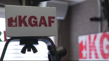 KGAF radio in Gainsville told its call letters are too vulgar for a Texas license plate