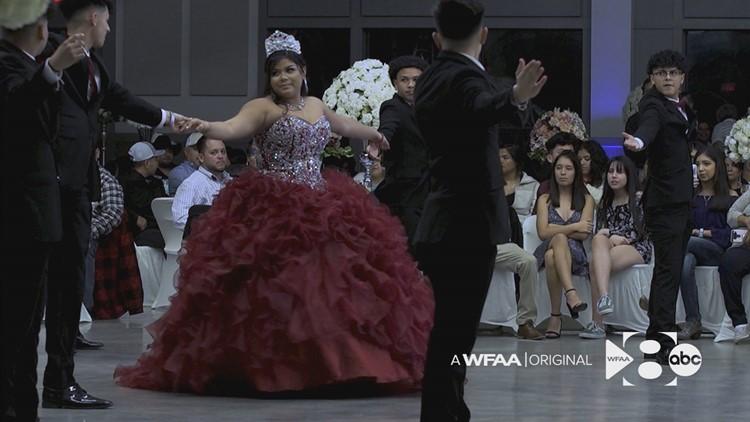 quinceañera dancing