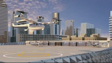 The first test site for Uber's flying taxis is in Frisco