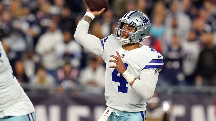 Cowboys survive in overtime to beat the Patriots 35-29