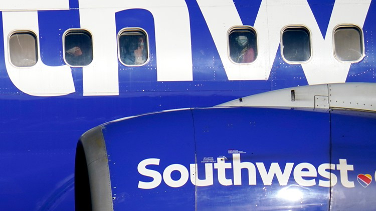 Southwest Airlines saw annual loss of $3.1 billion as pandemic gripped globe