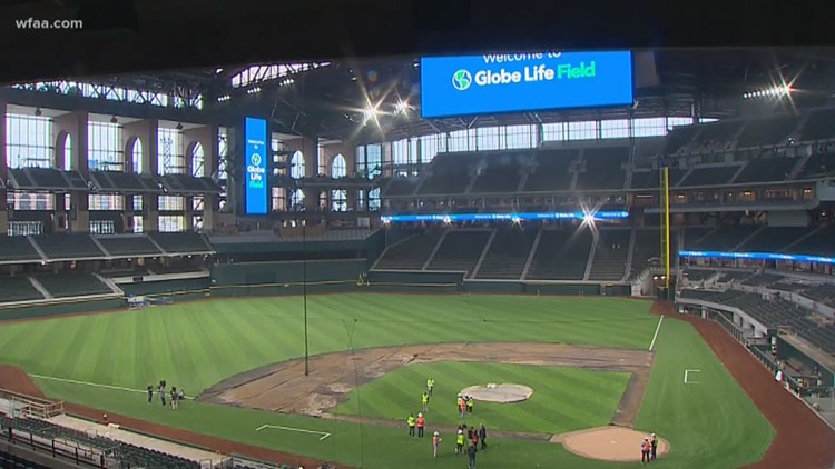 'It'll be waiting for us': Rangers excited to debut new ballpark when baseball season begins