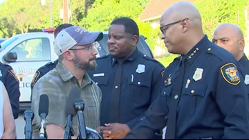 'We're damn proud of it': Fort Worth police chief praises community for finding Salem Sabatka