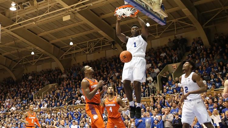 Duke's Zion Williamson entering the NBA Draft