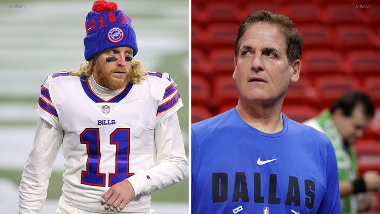 Mark Cuban offers Bills' Cole Beasley a deal to get vaccinated