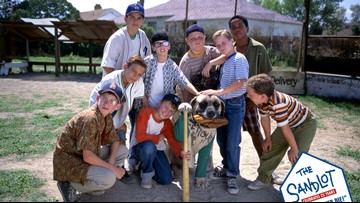'The Sandlot' cast members spotted at Longhorns-Jayhawks game