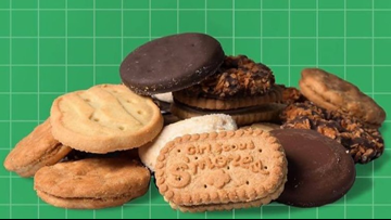 Police caution about 'highly addictive substance': Girl Scout cookies