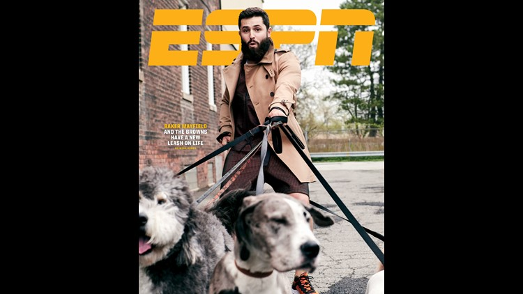 Baker Mayfield featured on cover of ESPN The Magazine