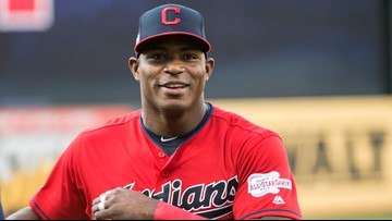 Cleveland Indians OF Yasiel Puig spends suspension becoming United States citizen