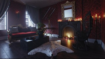 'The Addams Family' mansion is open for guests
