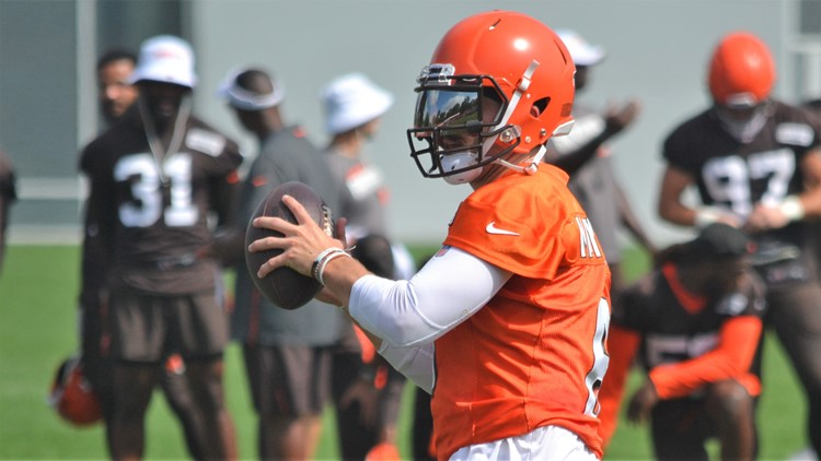 Baker Mayfield Cleveland Browns Training Camp August 21, 2019