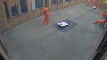 WATCH | Drone drops marijuana, cellphone to inmates at Ohio jail