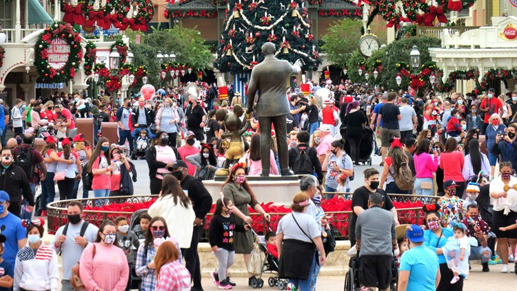 Disney World: You still need a mask if you're vaccinated for COVID-19