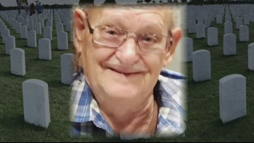 Overflow crowd for funeral of veteran with no family