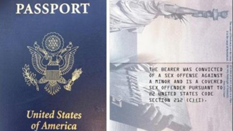 Sex Offender Passport
