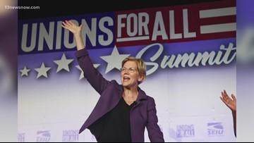 A day before next presidential debate, new Quinnipiac poll keeps Sen. Warren in the lead