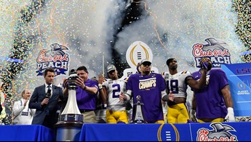 How to watch, stream, listen to LSU in the CFP National Championship