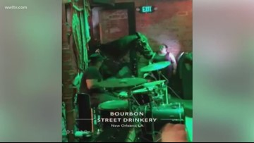 Horse walks into New Orleans bar as band plays 'Old Town Road'