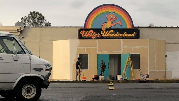 "Upcoming Nicolas Cage film ""Willy's Wonderland"" lands in Marietta"