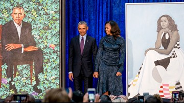 The Obama portraits are coming to Texas as part of national tour