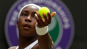 Historic Wimbledon run ends for 15-year-old Atlanta native Coco Gauff